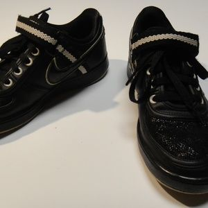 Nike Women's Shoes Sz 7.5 Black Sparkle